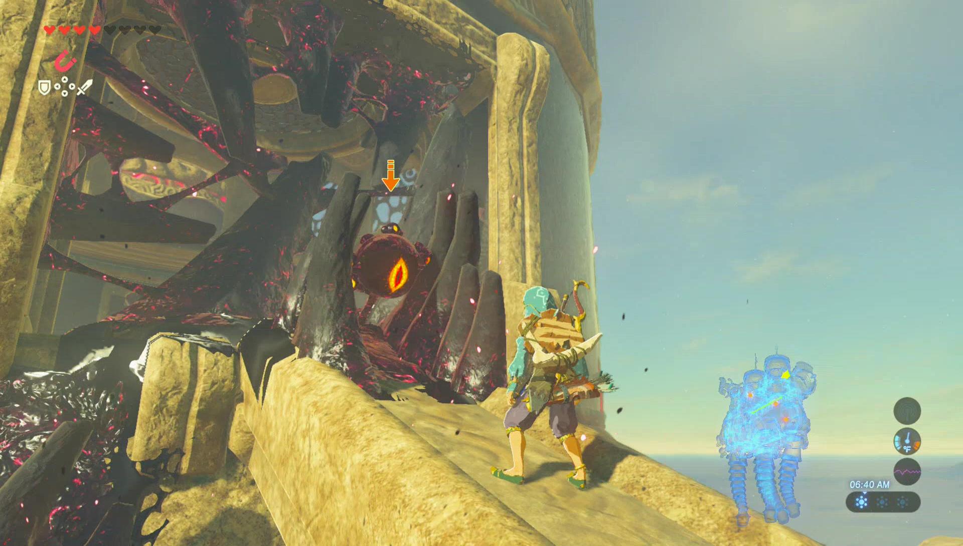 Breath Of The Wild Walkthrough Vah Naboris Dungeon Zelda Dungeon