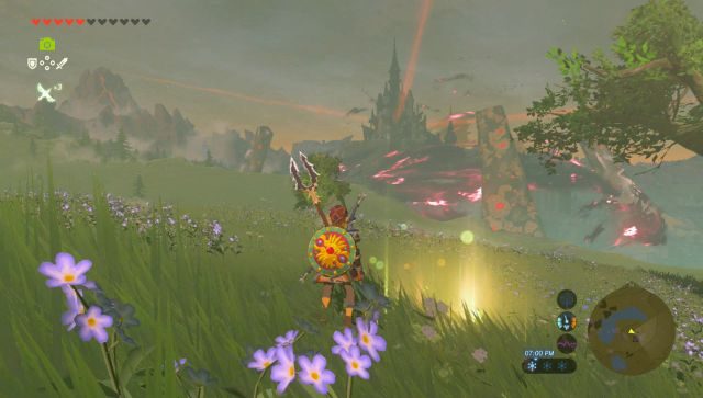 last memory location breath of the wild