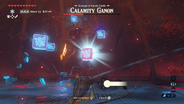 botw how to get the shrine at hyrule castle