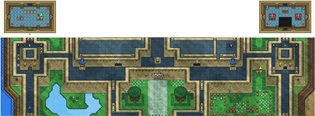 Map of Hyrule Castle