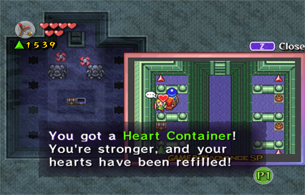 Don't forget to grab the Heart Container