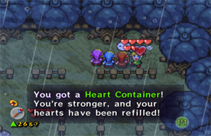 Make sure to grab the Heart Container