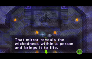 The Dark Mirror causes problems