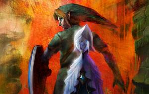 Zelda Wii Artwork