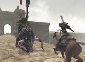 Twilight Princess Horseback Fight