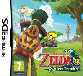 Spirit Tracks European Boxart