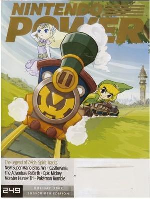 Spirit Tracks Nintendo Power