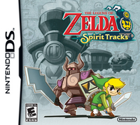 The Legend of Zelda: Spirit Tracks US Box Art