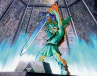 Link Frees the Master Sword