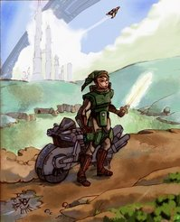 Link Looking All Futuristic