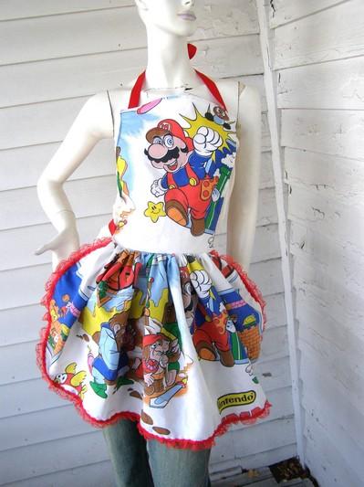 Zelda/Mario Apron