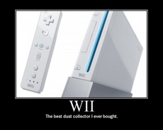 The Wii is a Dust Collector