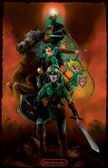 Zelda Timeline by J2Dstar