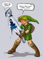 Zelda Wii by Tom Preston