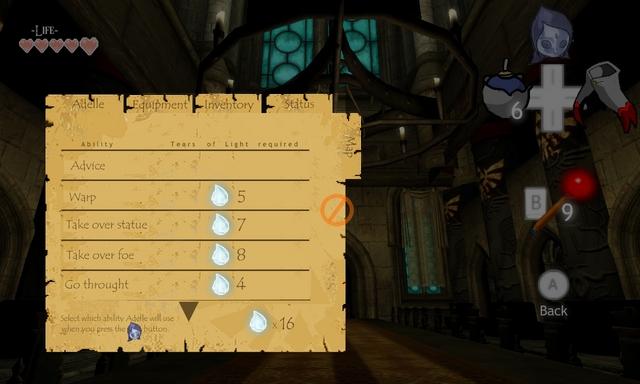 Zelda Wii Fake Screen 3