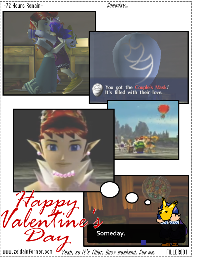 72 Hours Remain Valentine's Day