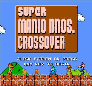 Super Mario Bros. Crossover: Mario, Link, and the rest of the NES Gang