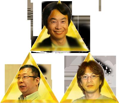 Zelda Developer Triforce