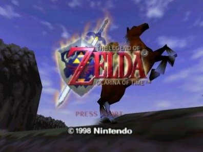 Ocarina of Time Title Screen