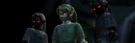 Twilight Princess Link with Shadow Links