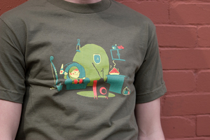 Split Reason Zelda Shirt