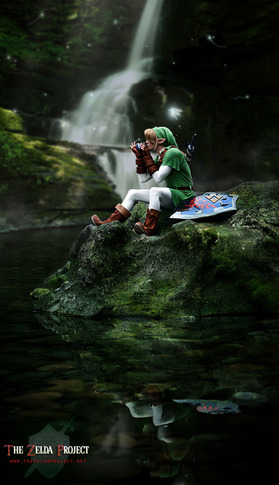 Link Overlooking a River