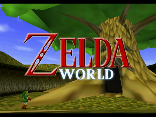 Zelda World Alpha Screenshot