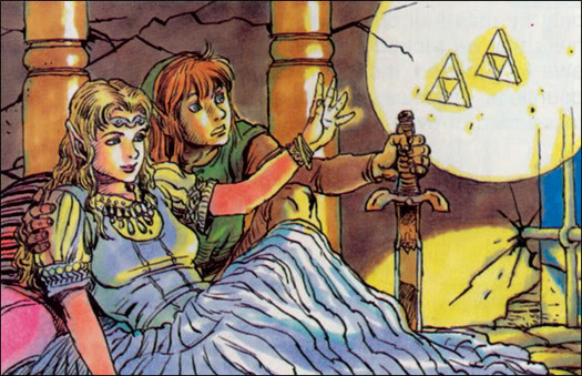 A Link to the Past Official Art