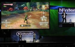 Miyamoto Playing Skyward Sword