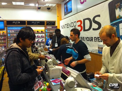 3DS Out Now in Europe, UK Launch Events a Smashing Success