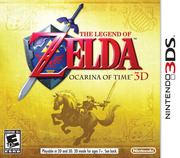 Ocarina of Time 3D Cover