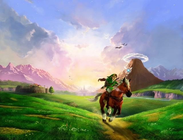 Ocarina of Time Poster 1