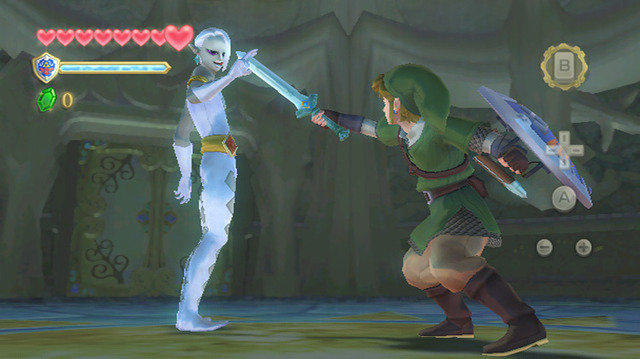Ghirahim Making Link His Bitch