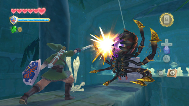 Link Kicking Some Major Spider Ass