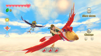 Link can now fly on a bird as a secondary means of transportation up in Skyloft