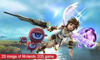 Pit is flying to 3DS in 2011!