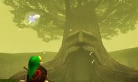 The esteemed Deku Tree