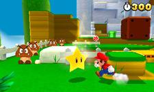 Mario grabs a Starman