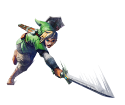 Thumbnail image for Link with the Skyward Sword 2 (no magic)