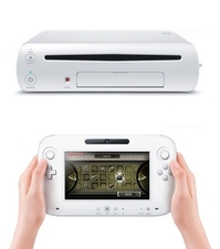 The Wii U and its controller