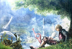 New footage of Xenoblade Chronicles inside!