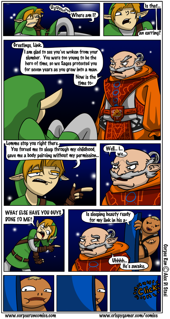 Zelda Comic 1