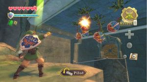 Skyward Sword First Dungeon