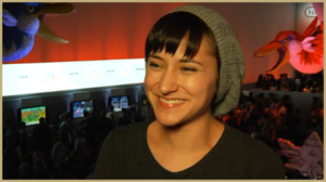 Zelda Williams at E3
