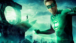 Green Lantern in 3D