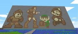 Minecraft Pixel Fanart