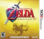 Ocarina Of Time 3DS Cover