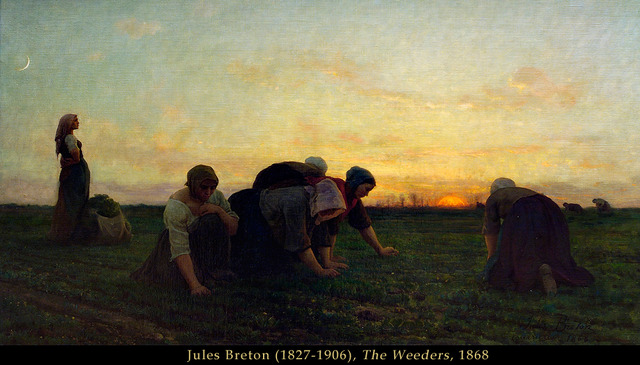 The Weeders by Jules Breton