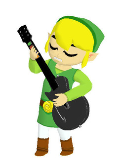 Link Rocks Out!