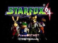 Star Fox 64's original title screen
